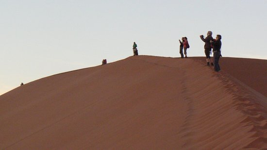 Sossus Dune Lodges: The after glow