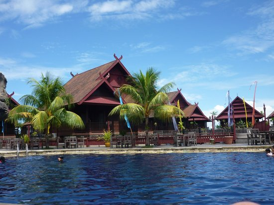 Hotel Pantai Gapura Makassar: Maar er is ook de zon.