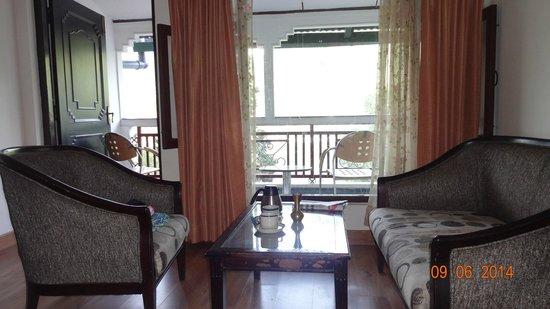 Hotel Krishna: Room
