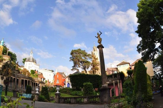 Hotel Portmeirion : Le village