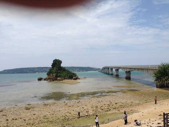 Kori Bridge: 古宇利大橋、入り口