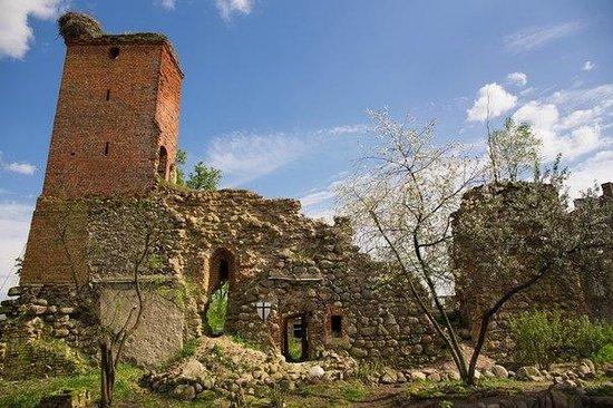 Georgenburg Castle: сторожевая башня