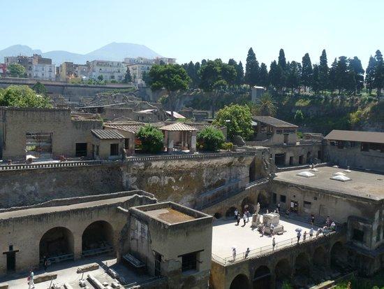 Ruins of Herculaneum: site d herculanum