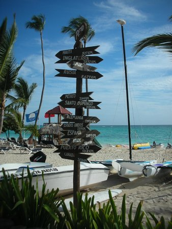 Grand Palladium Punta Cana Resort & Spa: Beach view