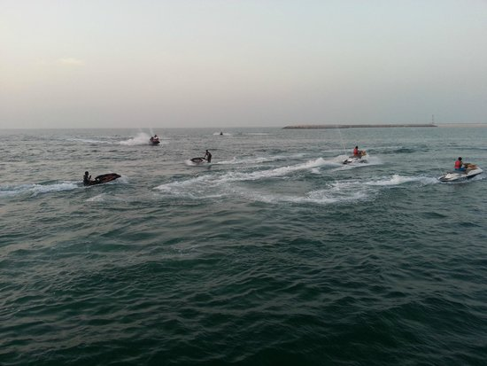 Marjan Island Resort & Spa: Jet Ski