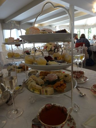 Tea & Niceties: Delicious and well presented food