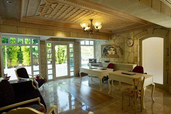 Petunya Konak Boutique Hotel: Reception