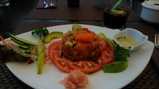Sushi Mex  - Boulevard El Faro: Tartar de salmón