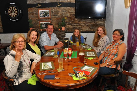 Evening Meal at The Hawkins Arms
