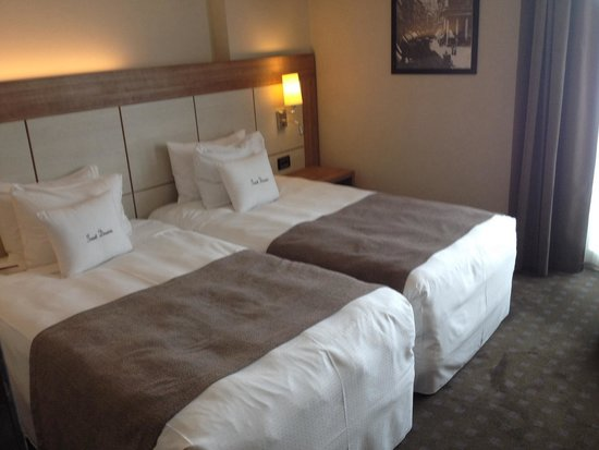 Doubletree by Hilton Milan: Very comfortable beds