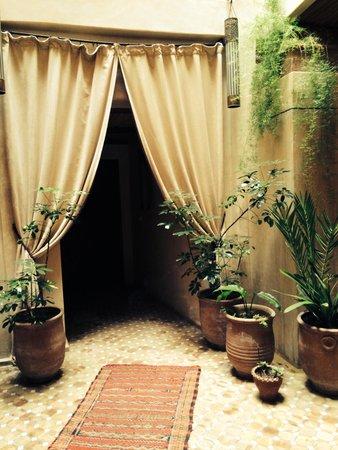 Riad Thais : Entrance
