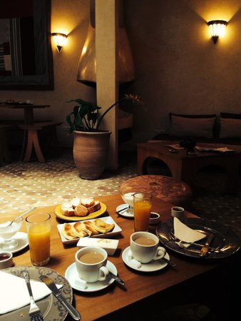 Riad Thais: Breakfast included