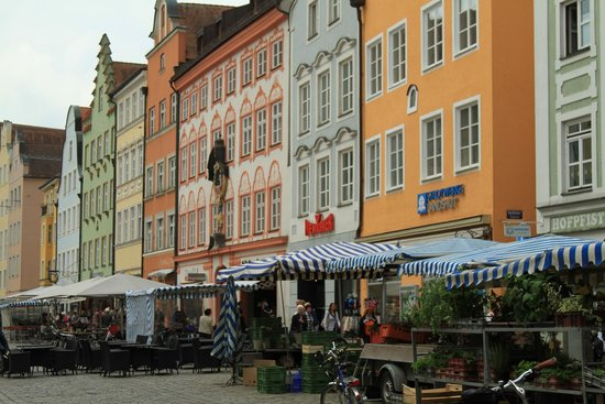 Romantik Hotel Fürstenhof: Landshut Old Town - a short walk from Hotel Fuerstenhof