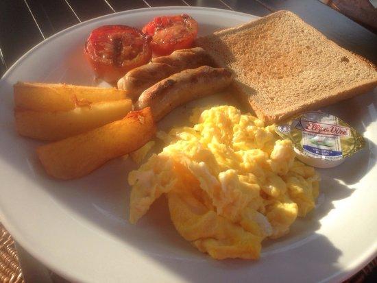 Karma Royal Sanur: The Irish breakfast at the hotel restaurant. $4.50 approximately