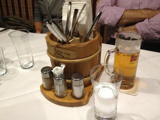XXL Restaurant Leopoldauer Alm : Posate