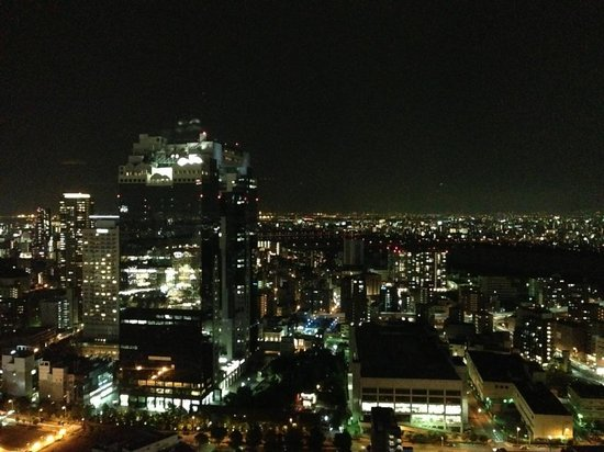 Intercontinental Hotel Osaka: 夜景