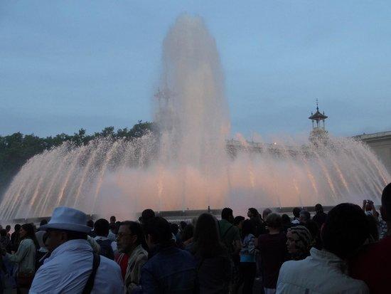Las Ramblas: fountains