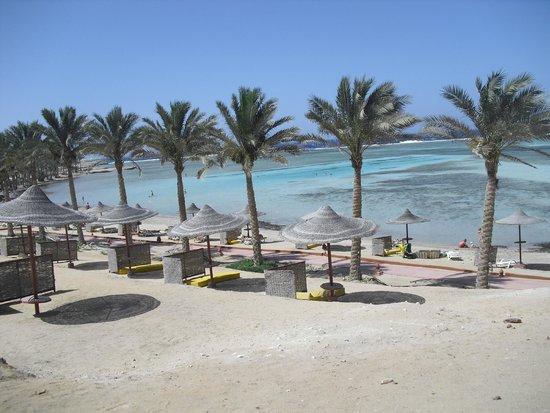 Eden Village Habiba Beach: spiaggia