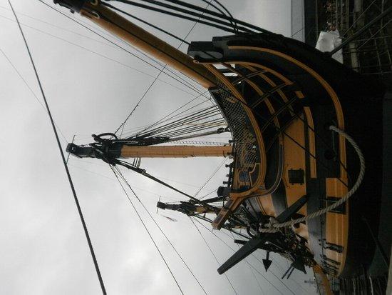 HMS Victory: The bowsprit
