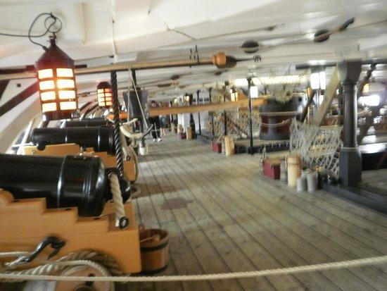 HMS Victory: Below decks