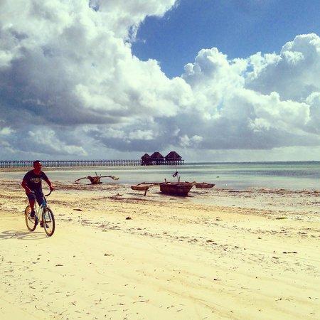 Breezes Beach Club & Spa, Zanzibar: Morning Bike Ride