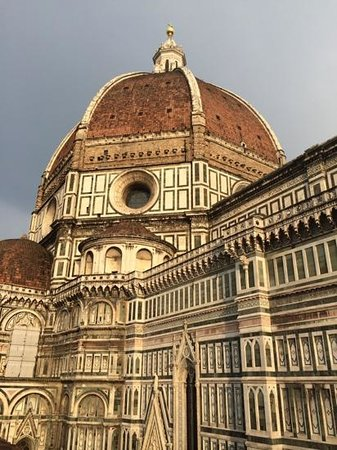 Hotel Duomo Firenze : Great View with Croissants