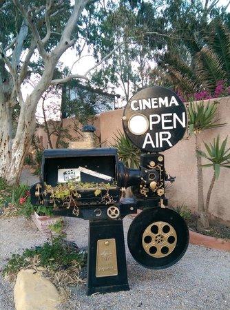 Open Air Cinema Kamari: Open AIr Cinema