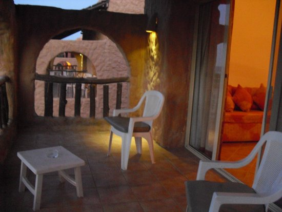 Eden Village Habiba Beach: terrazza