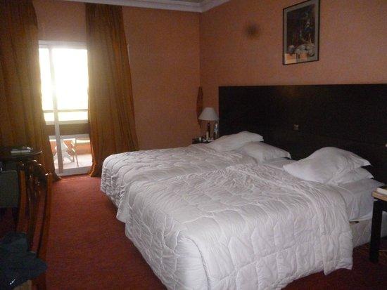 Hotel Marrakech le Semiramis: Notre chambre double