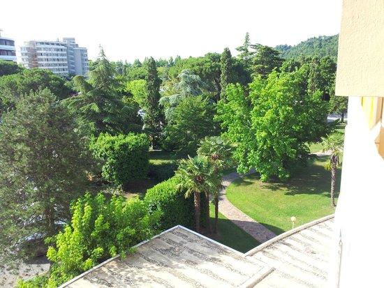 Radisson Blu Resort, Terme di Galzignano – Hotel Sporting: visuale dalla camera