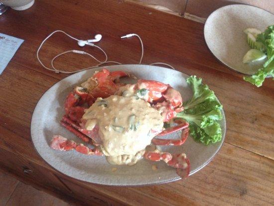 Putumayo: Nice cheese crab