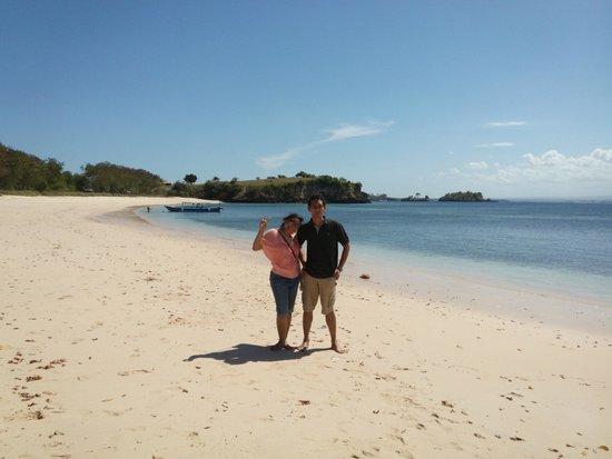 Pink Beach: the beach