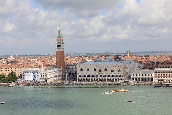 San Giorgio Maggiore: View of St Mark's Square