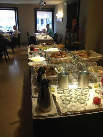 BEST WESTERN Hotel Metropoli: Buffet colazione