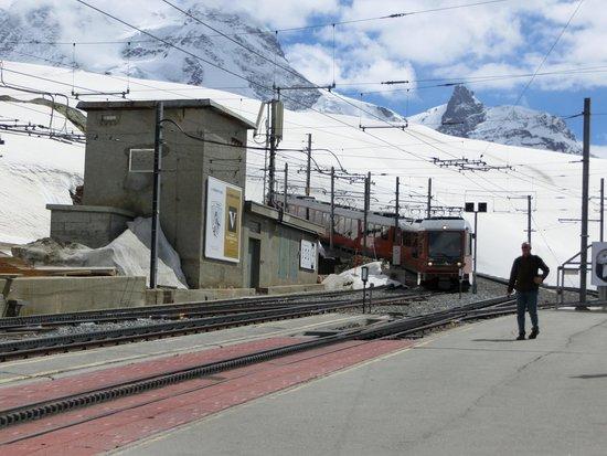 Gornergrat Bahn : 鉄道