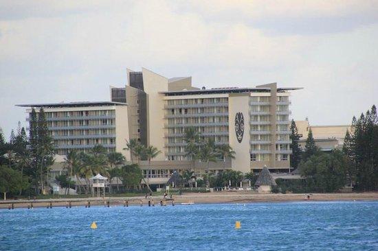 Chateau Royal Beach Resort and Spa : Vue depuis l'Anse Vata
