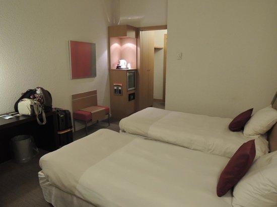 Ibis Milano Ca Granda: 部屋は掃除が行き届いており清潔です