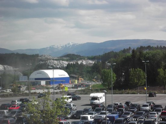 Clarion Hotel Bergen Airport: View to the off-site