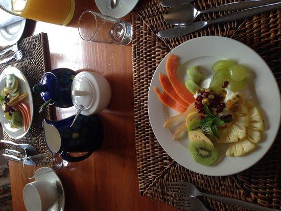 Pat's Place B&B: Healthy Breakfast