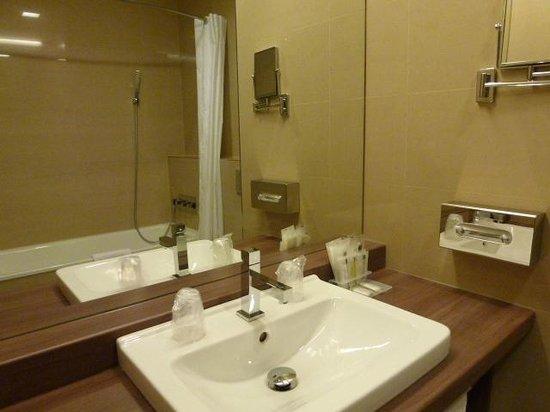 Hotel Budweis: 洗面所