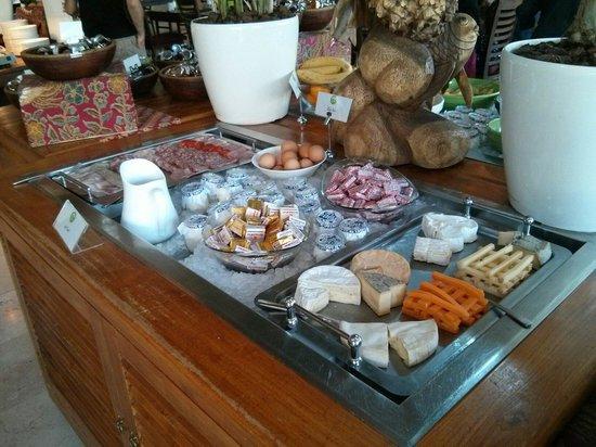 Les Jardins de Beauval : Petit déjeuner