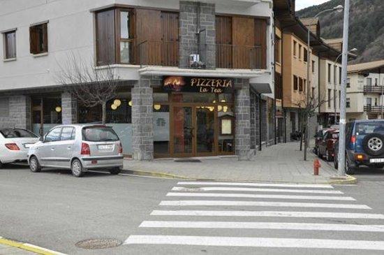Pizzeria la Tea: Nueva ubicacion en Ronda San Pedro, 3