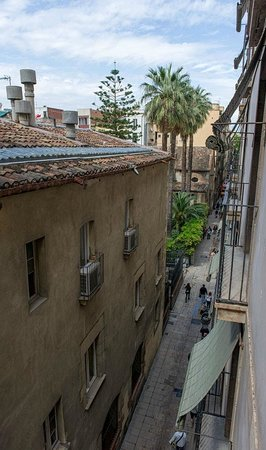 Casa Camper Hotel Barcelona : View from my balcony