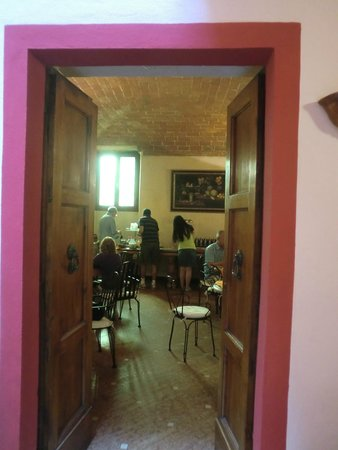 Porta Faenza: Frühstücksraum