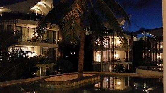 Le Meridien Bali Jimbaran: Night view