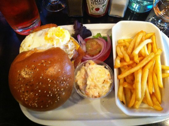 Indiana Café - Montparnasse : Chicken Indiana burger