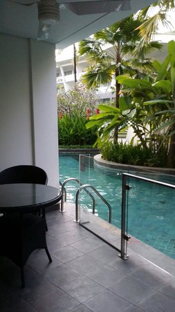 Le Meridien Bali Jimbaran : Pool access from my room
