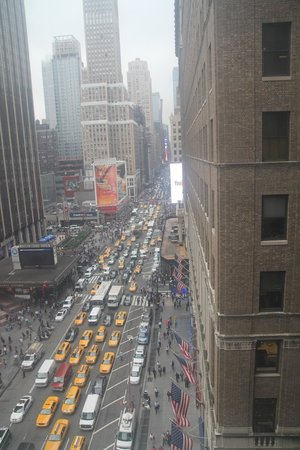 Manhattan NYC–an Affinia hotel: lots of cars