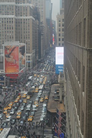 Manhattan NYC–an Affinia hotel: Trafic