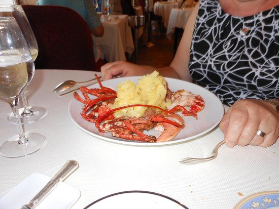 Domaine de Rochevilaine: 'The lobster!!!'